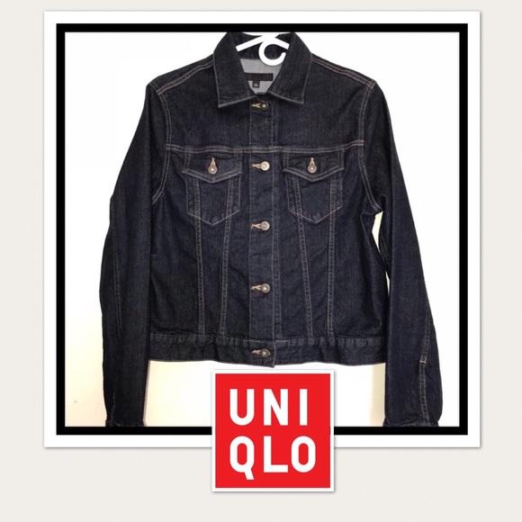 Uniqlo Jackets Coats Women Denim Jacket Poshmark